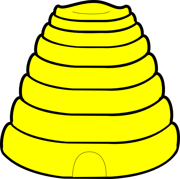 Beehive Clip Art At Vector Clip Art Online Royalty
