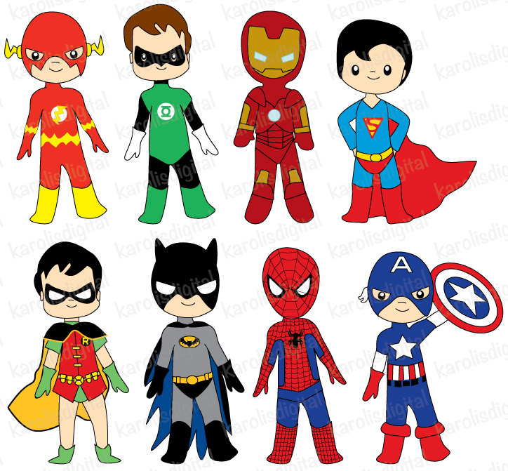 Best Superhero Clipart