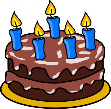 Birthday Cake Clip Art Free Vector In Open Office Drawing