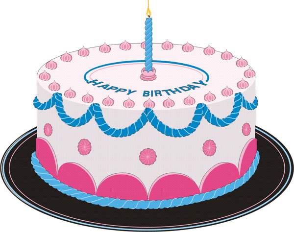 Cake Art Design School : Birthday Cake Clipart - Clipartion.com