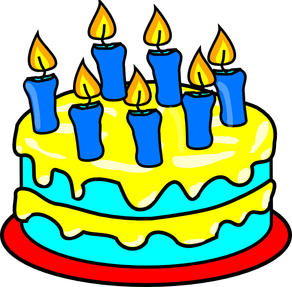 Birthday Cake Clip Art Png Free Clipart Images