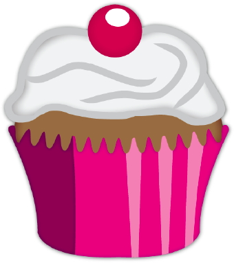 Birthday Cupcake Clipart Black And White Free