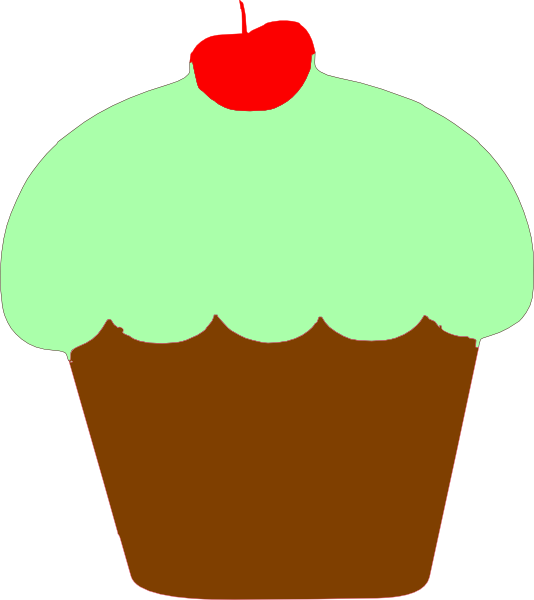 Birthday Cupcake Clipart Free Clip Art Images