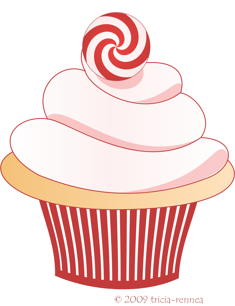 Birthday Cupcakes With Candle Cupcake Clipart Pngclipart