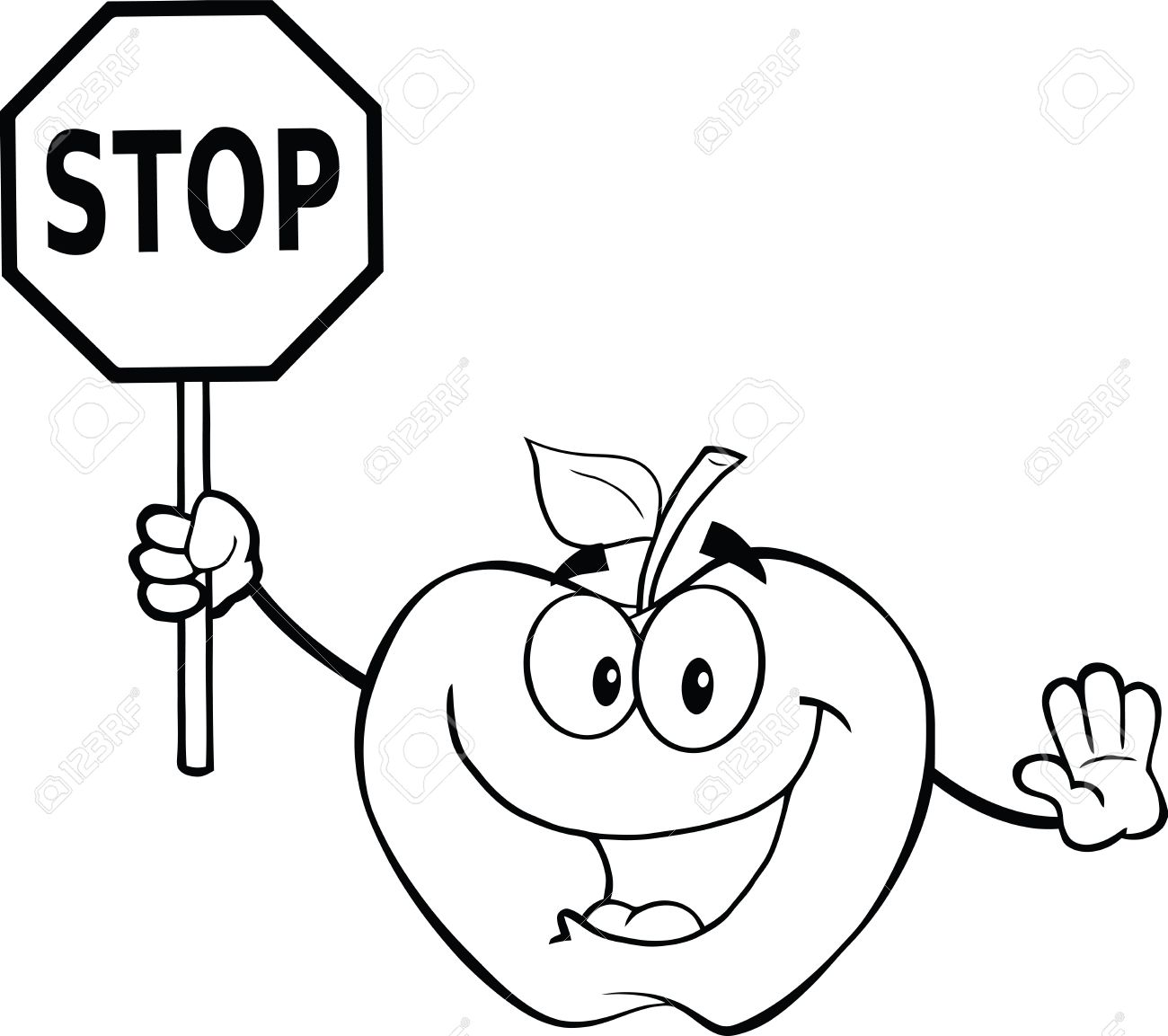 Best Stop Sign Black And White #13934 - Clipartion.com for Stop Sign Clipart Black And White  153tgx