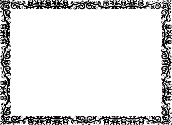 Wedding Clip Art Black And White Border Free black-and-white-border-clip-art