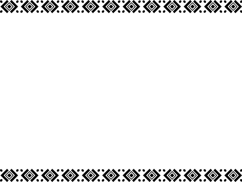 Black And White Border Template