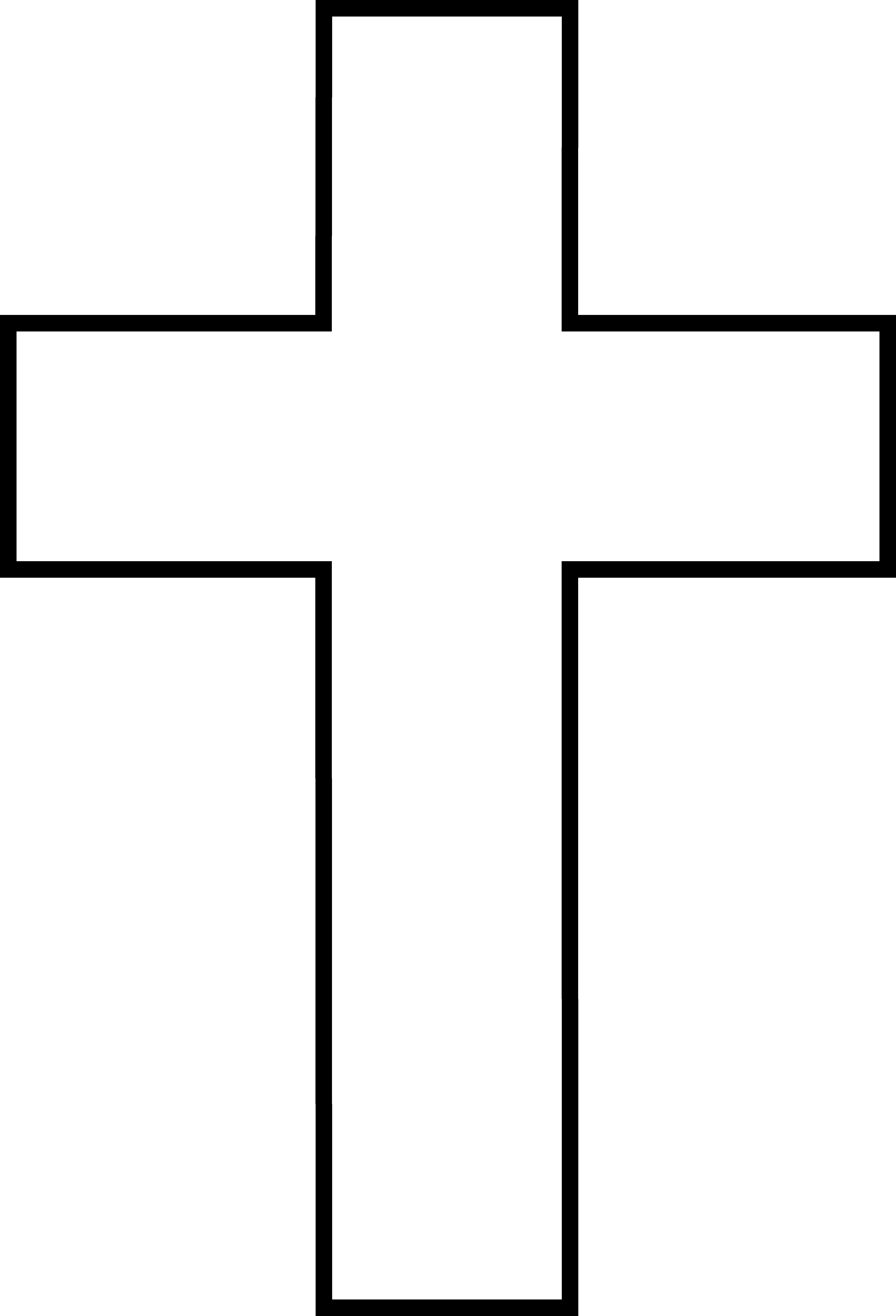 black-and-white-cross-picture