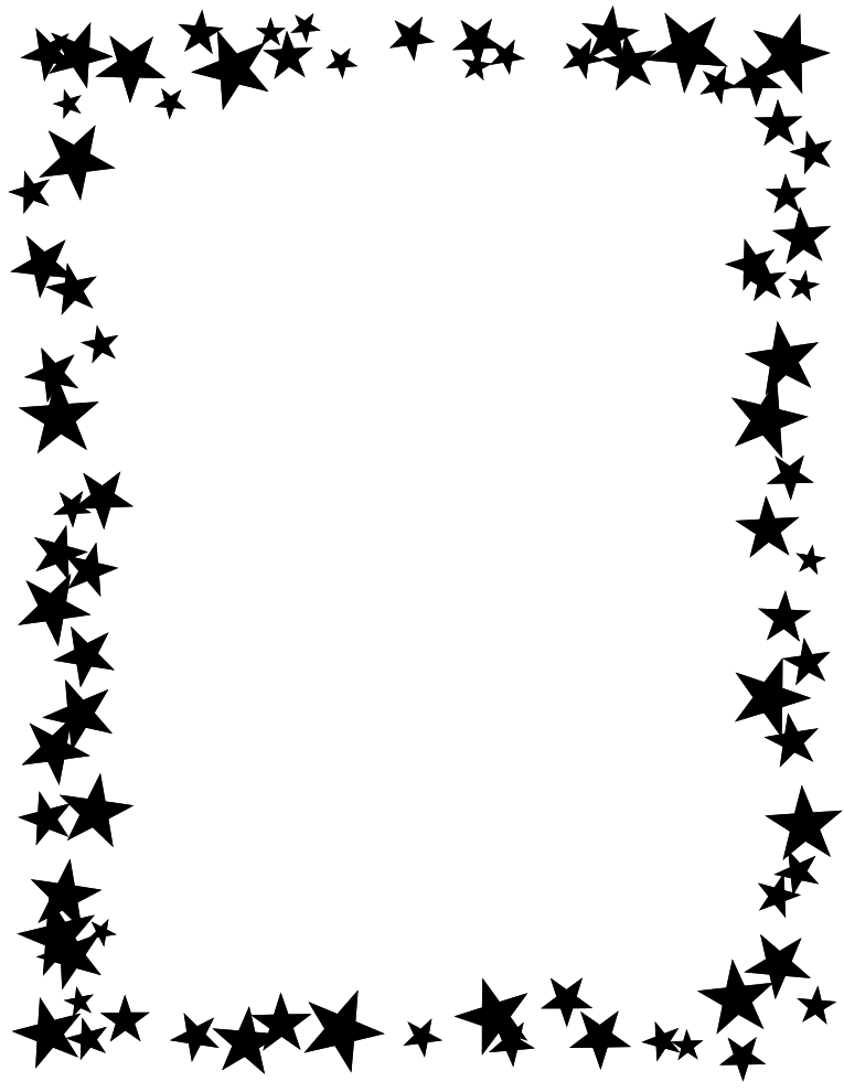 Black And White Fire Clipart Borders Free