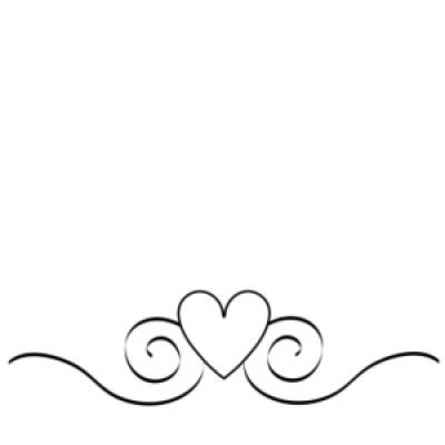 Black And White Heart Clip Art Borders The Best Home Decor