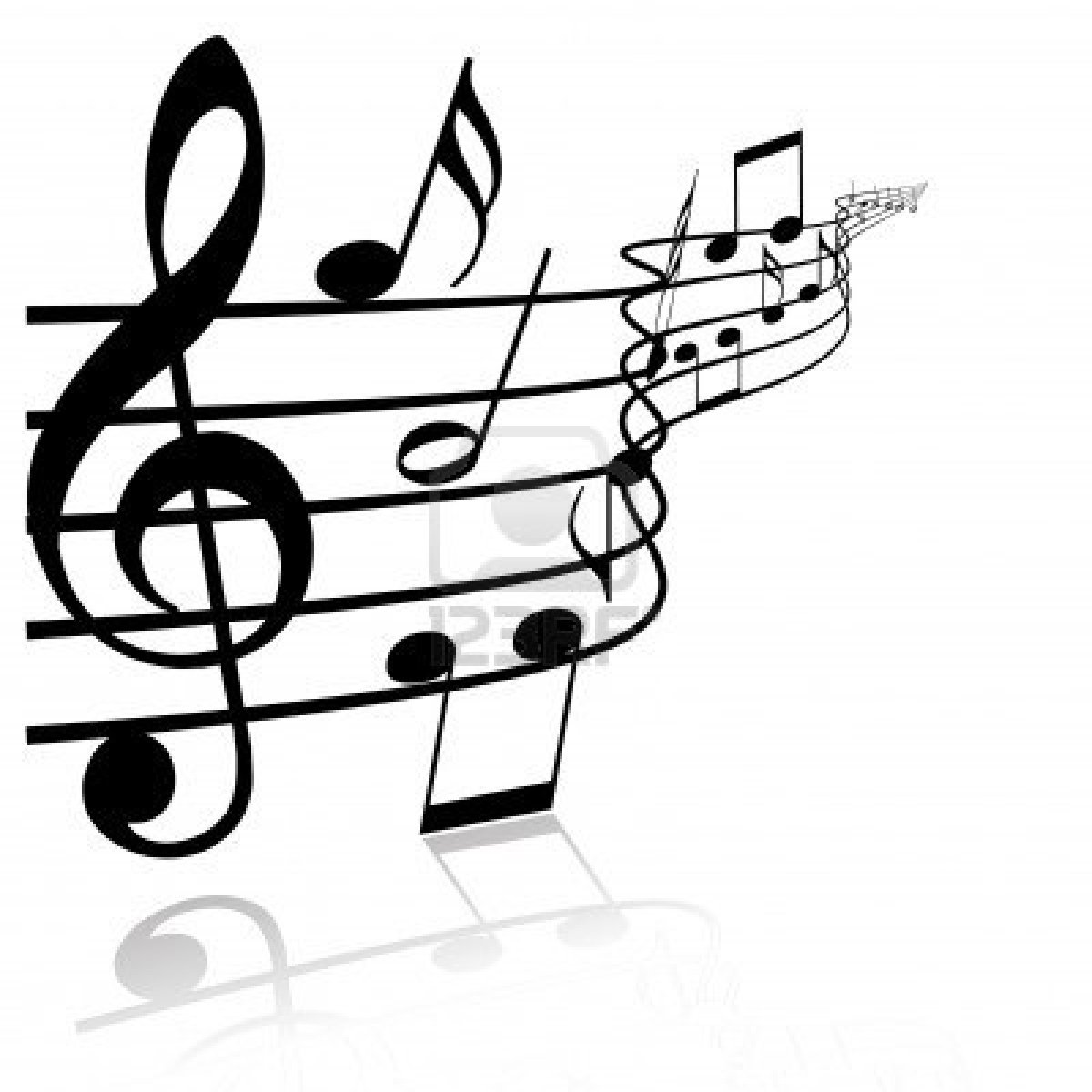 Black And White Music Notes Clip Art The Art Mad Wallpapers
