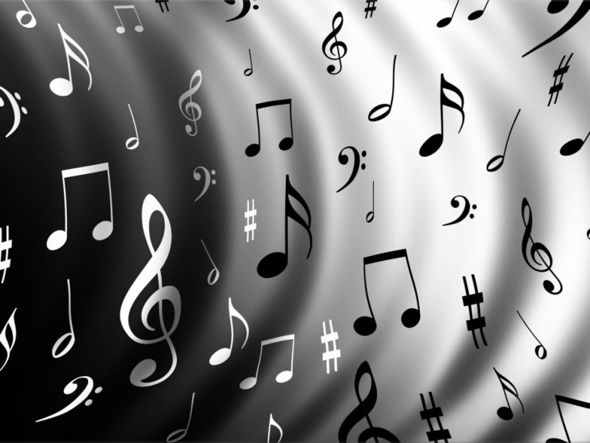 Black And White Music Notes Wallpapers The Art Mad Wallpapers