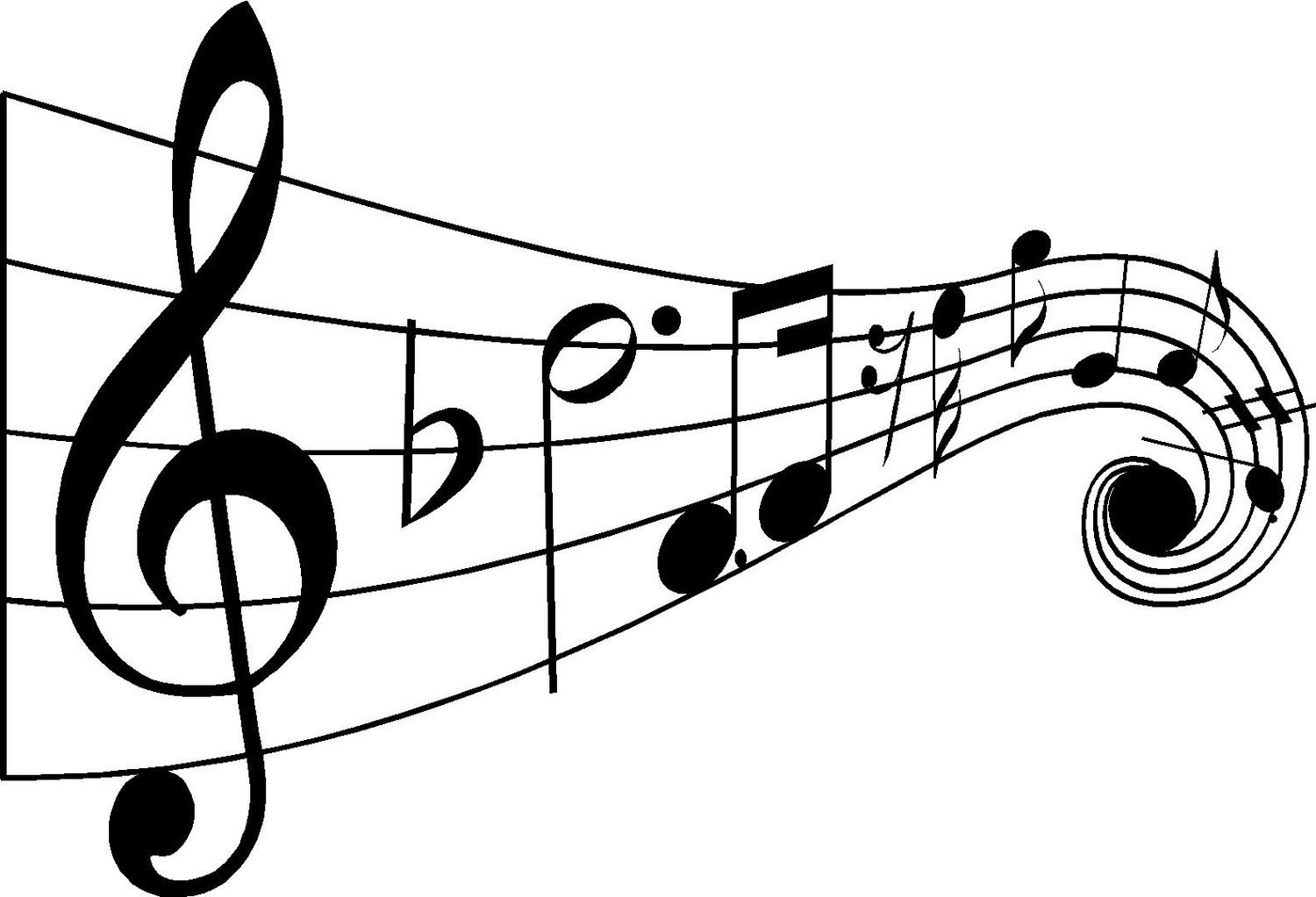 Black And White Music Notes Wallpapers The Art Mad