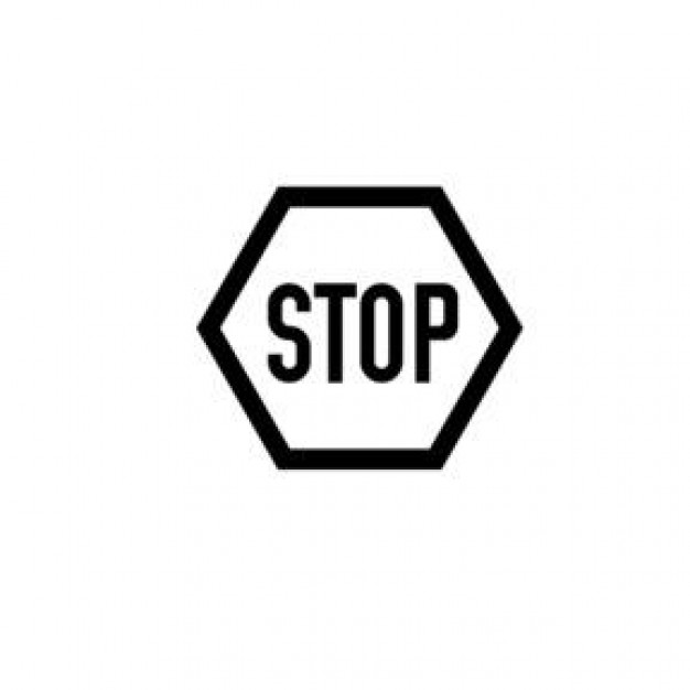 Black And White Stop Sign Icons Free Download
