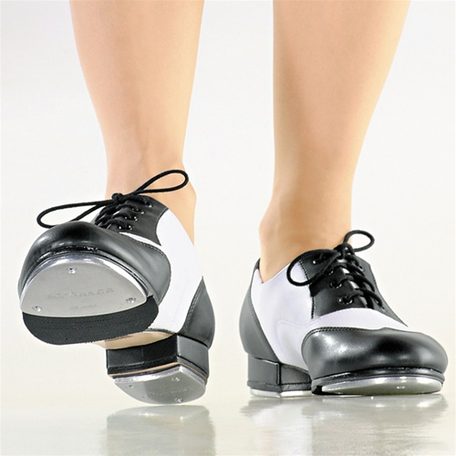 Black And White Tap Shoes 6