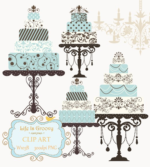 Black And White Wedding Cake Clip Art Picture Bkkg The Wedding