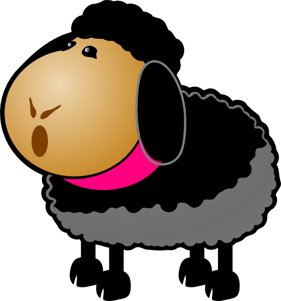 Black Sheep Clip Art At Vector Clip Art Online