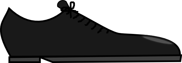 Black Shoe Clip Art At Vector Clip Art Online Royalty