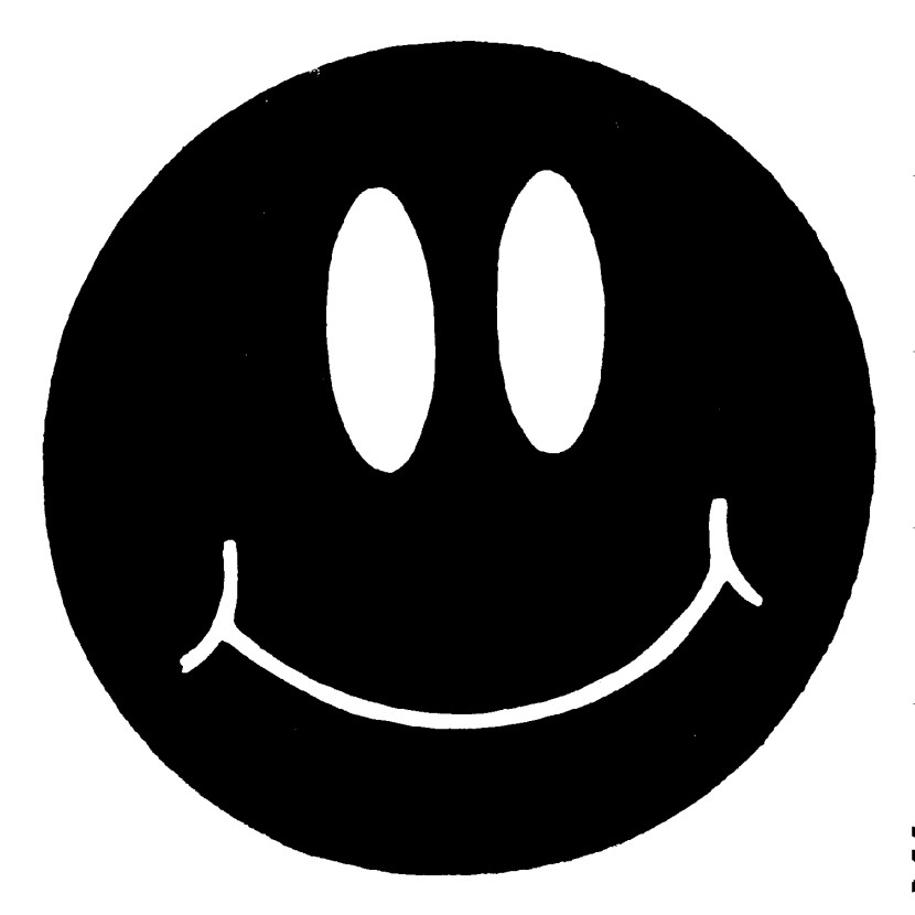 Black And White Smiley Face - Clipartion.com