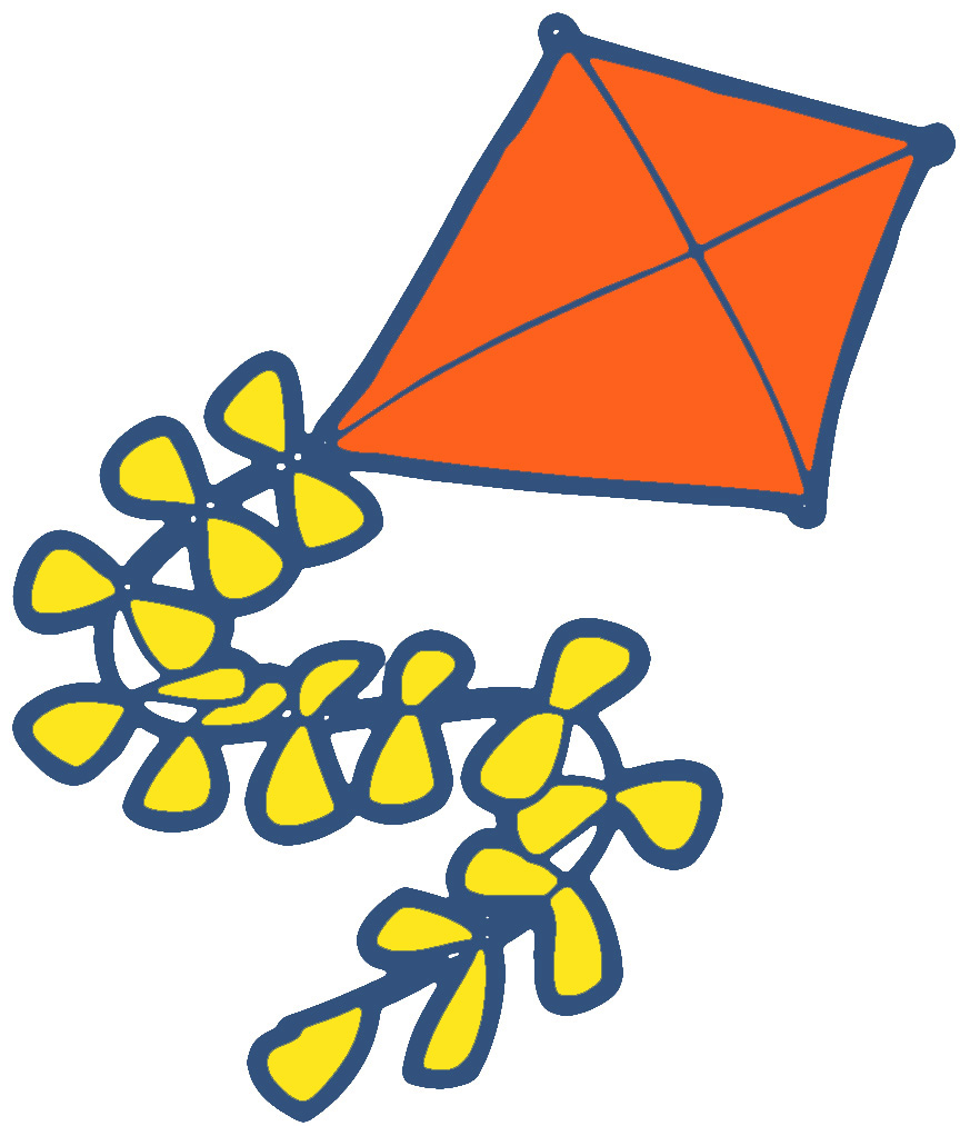 Best kite clipart 8532 clipartion blank kite clip art voltagebd Image collections