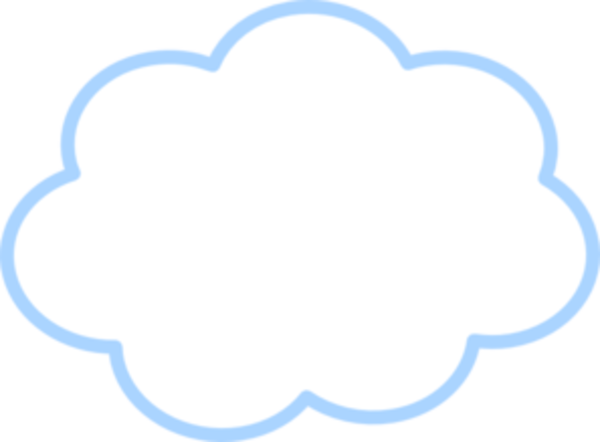 Blue Cloud Md Image Vector Clip Art Online Royalty Free