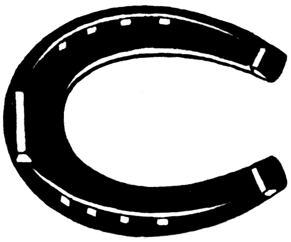 Blue Horse Shoe Clip Art Gallery