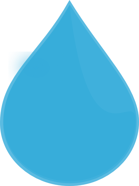 Blue Water Drop Vector Free Clipart Free Clip Art