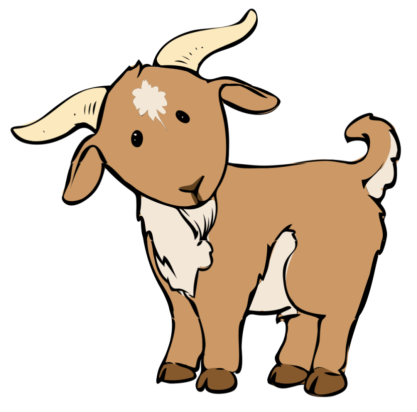 Best Boer Goat Clip Art #20678 - Clipartion.com