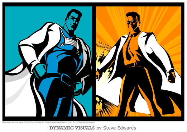 Bold Dynamic Graphics Monumental Medical Heroes Stl