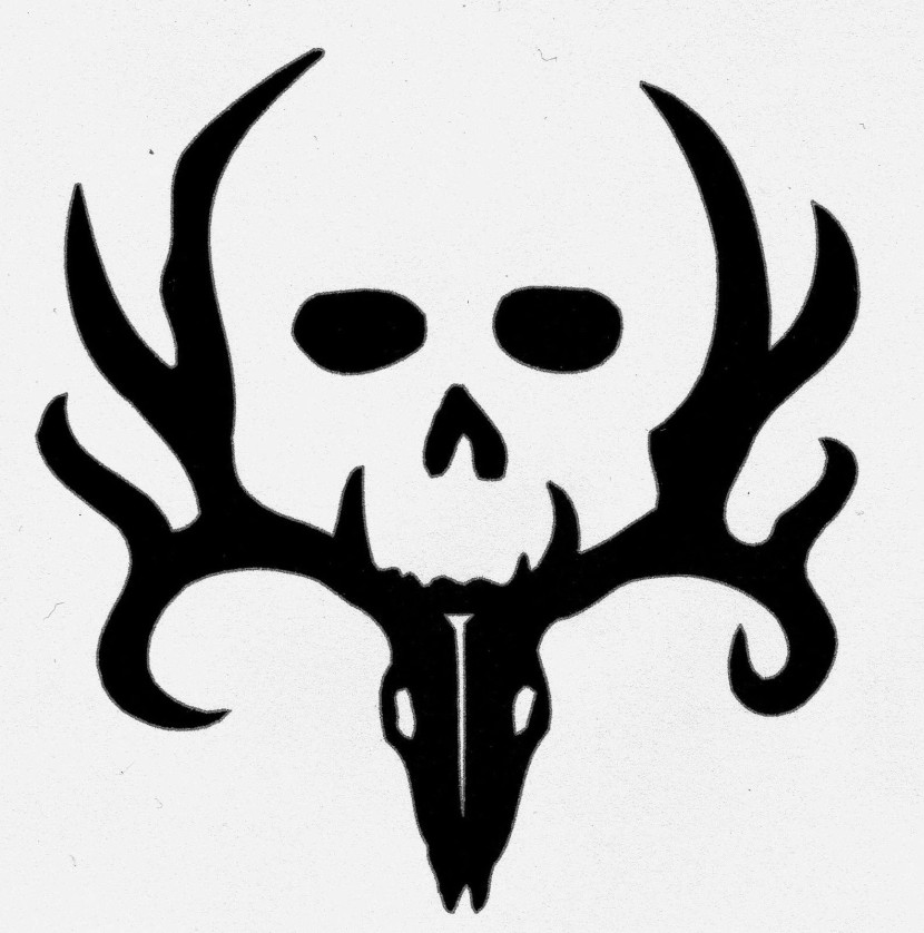 Bone Collector Deer Skull Logo Clipart Free Clipart