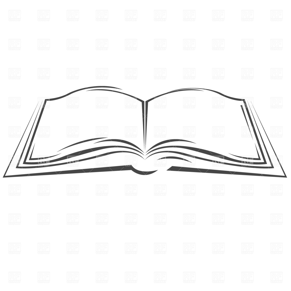 Book Images Clip Art Symbolic Open Book Objects Download Royalty