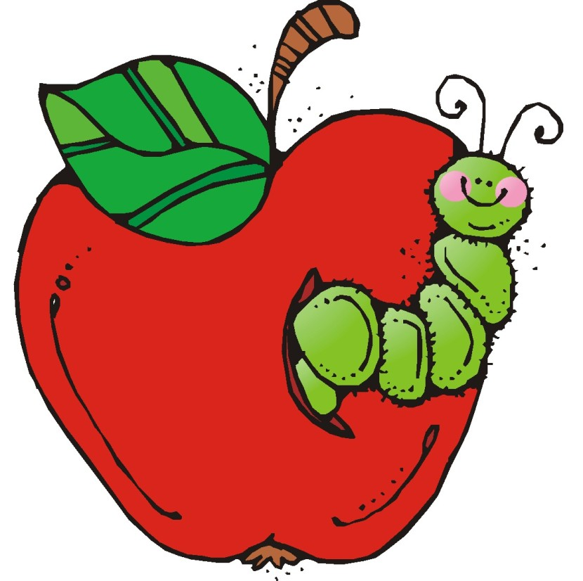 Books Free Clipart Apple