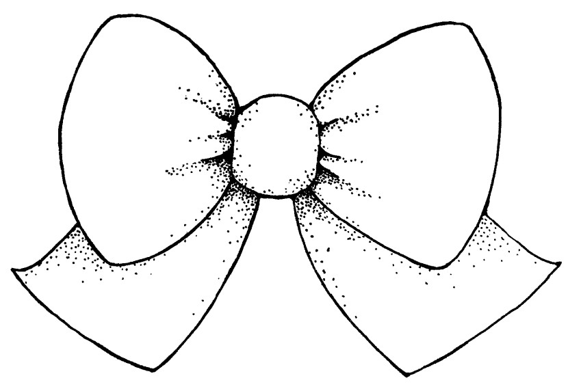 Bow Clipart Black And White Free Clipart Images