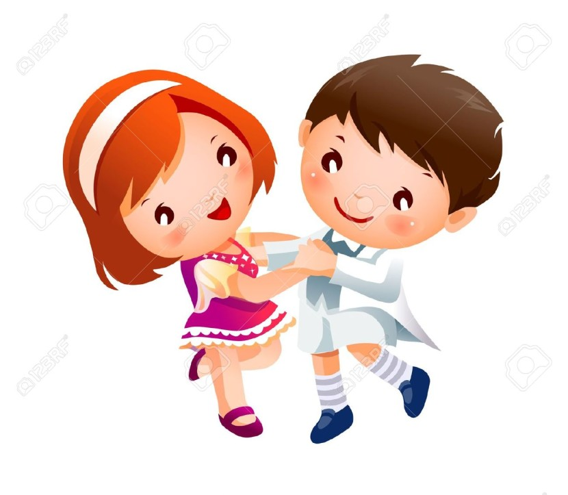 Boy And Girl Dancing Royalty Free Cliparts Vectors And Stock