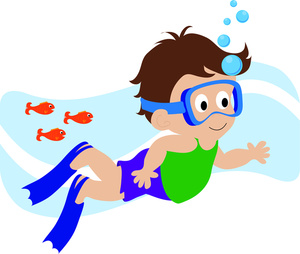 Boy Swimming Clipart Free Clipart Images
