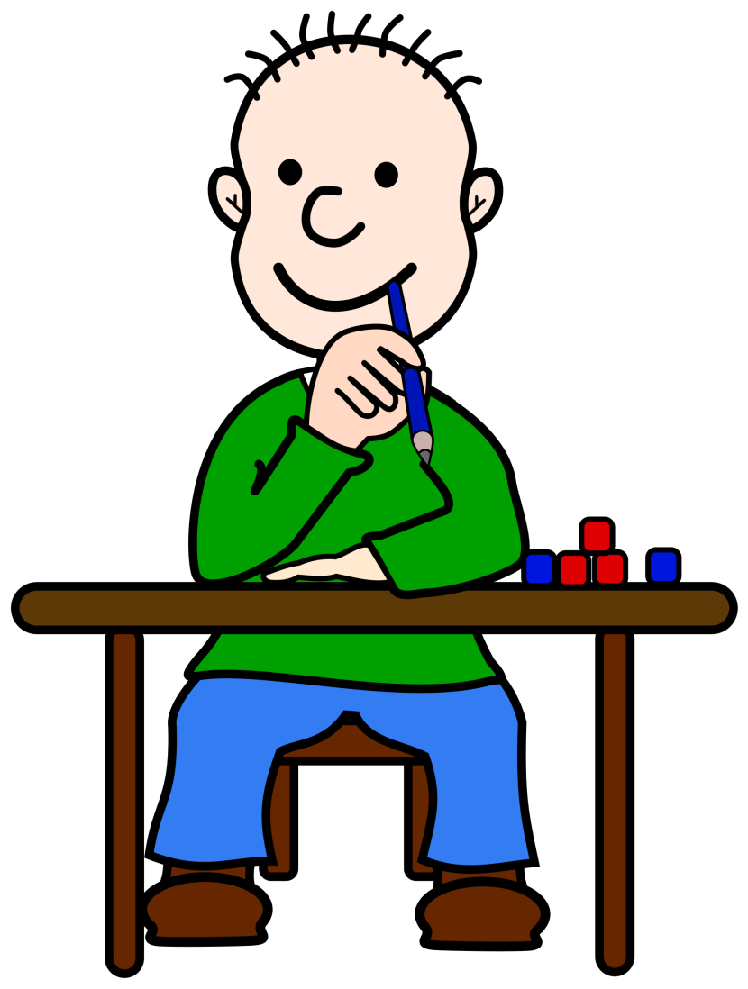 Boy Thinking Clipart Free Clipart Images