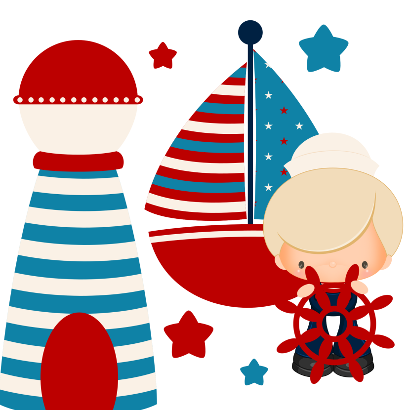 Boys Clipart Digital Graphics Cute Nautical Clipart Free