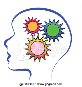 Brain Thinking Black And White Cartoon Clipart Free Clip Art Images