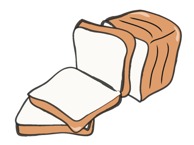 Bread Clipart Black And White Free Clipart Images