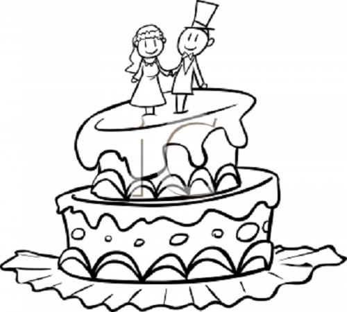 Wedding Cake Clip Art - Clipartion.com