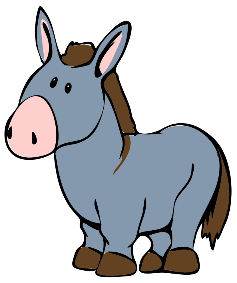 Brown Donkey Clipart Free Clip Art Images