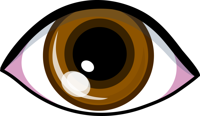 Brown Eyes Clipart Free Clipart Images