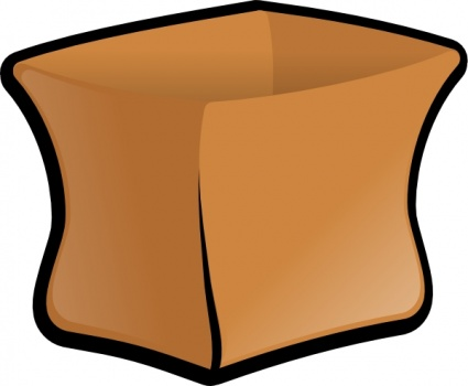Brown Paper Lunch Bag Vector Download 1 Vectors Page 1