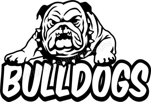 Bulldogs On Pinterest Clip Art Blue Bulldog And Mississippi