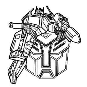 Free Printable Bumblebee Transformer Coloring Pages