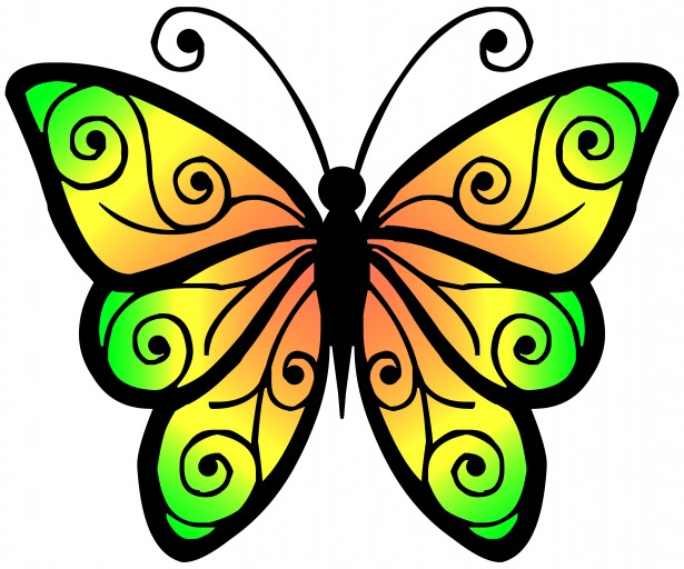 Best Butterfly Clipart #11837 - Clipartion.com