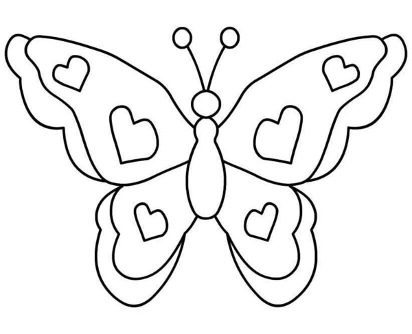 Butterfly Clipart Black And White Kudoskido Net