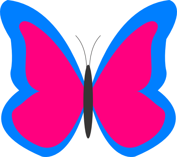 Butterfly Outline Clipart Free Clipart Images
