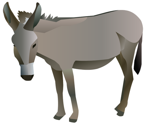free clipart of a donkey - photo #46