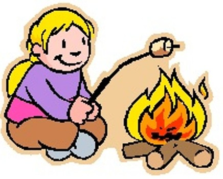 Campfire Black And White Clipart Free Clip Art Images